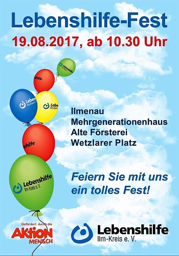 19.8.2017 Lebenshilfefest Ilmenau